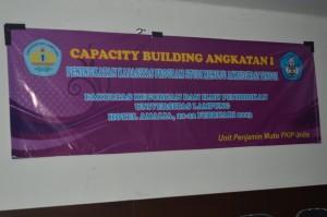 Capacity Building Angkatan I yang diselenggarakan oleh FKIP Unila